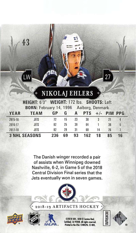 2018-19-Upper-Deck-Artifacts-Hockey-Cards-Pick-From-List-Rookies-Legends-SPs miniature 69