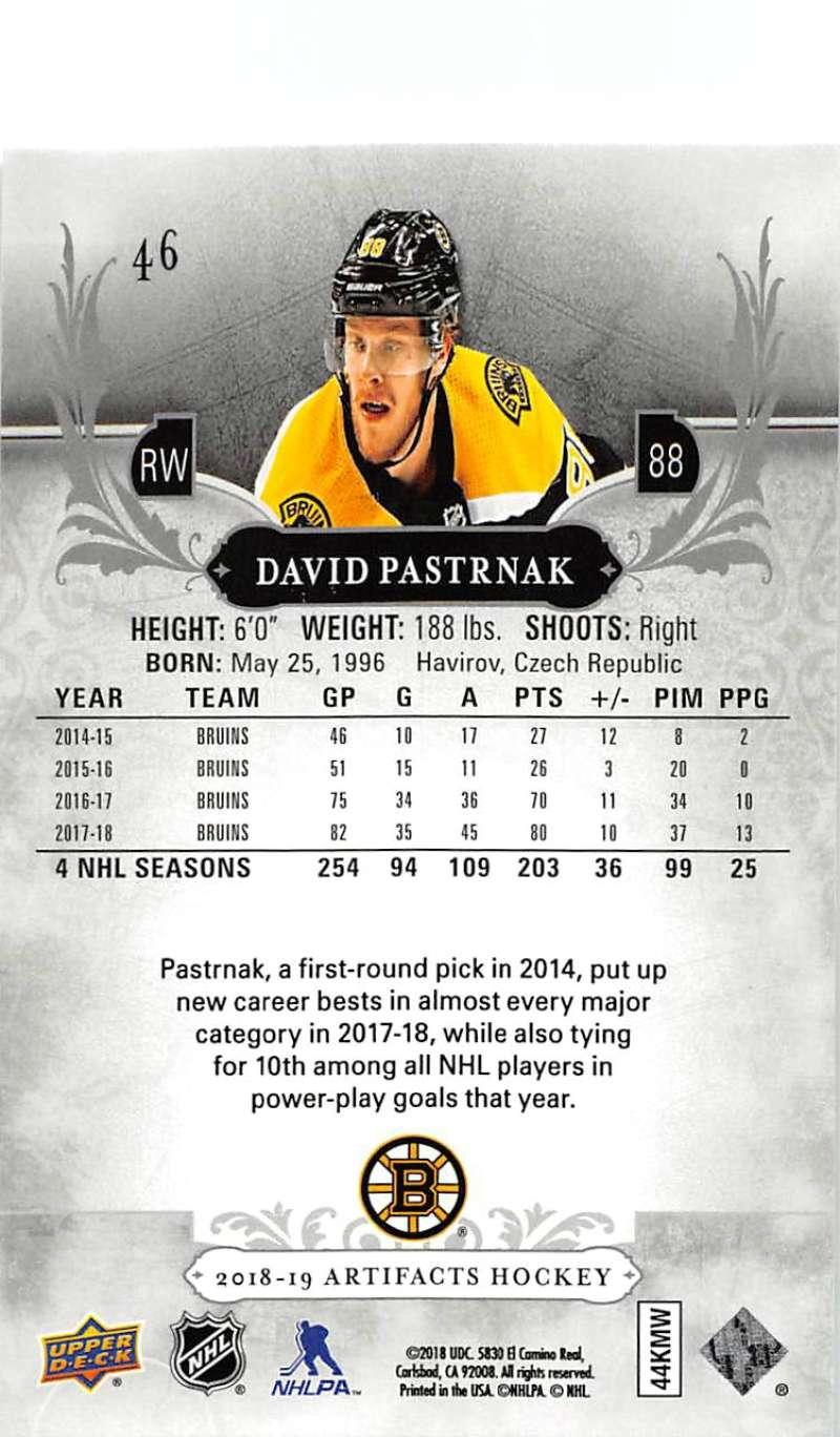 2018-19-Upper-Deck-Artifacts-Hockey-Cards-Pick-From-List-Rookies-Legends-SPs miniature 75