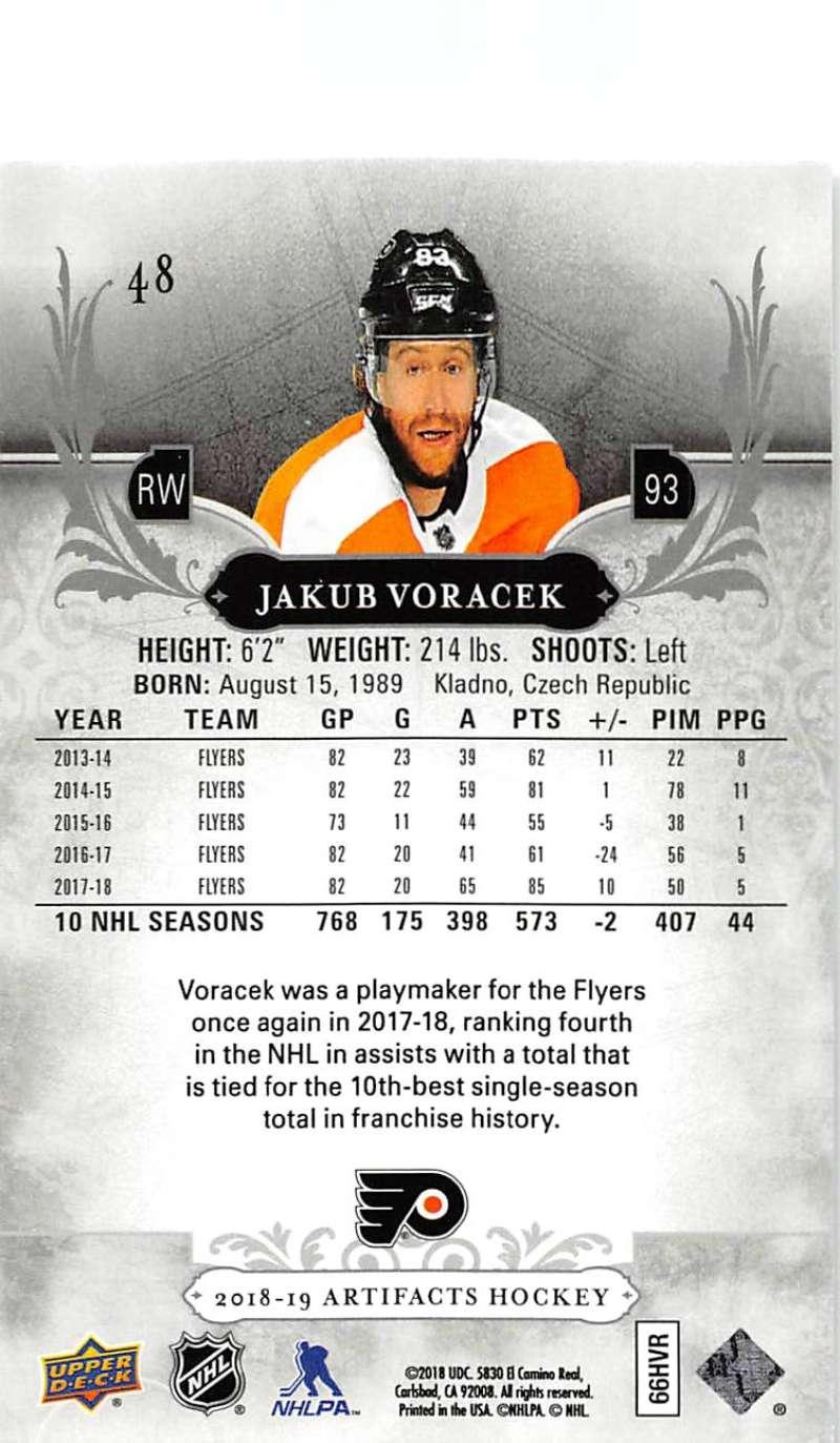 2018-19-Upper-Deck-Artifacts-Hockey-Cards-Pick-From-List-Rookies-Legends-SPs miniature 77