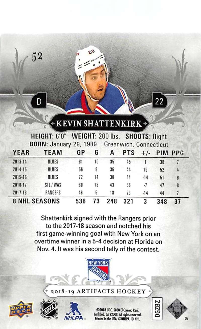 2018-19-Upper-Deck-Artifacts-Hockey-Cards-Pick-From-List-Rookies-Legends-SPs miniature 85