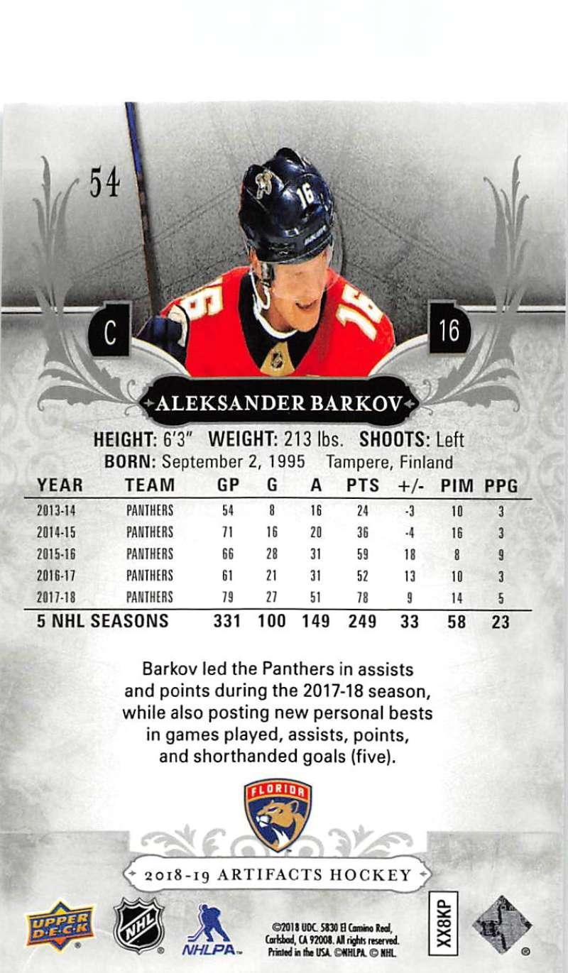 2018-19-Upper-Deck-Artifacts-Hockey-Cards-Pick-From-List-Rookies-Legends-SPs miniature 89