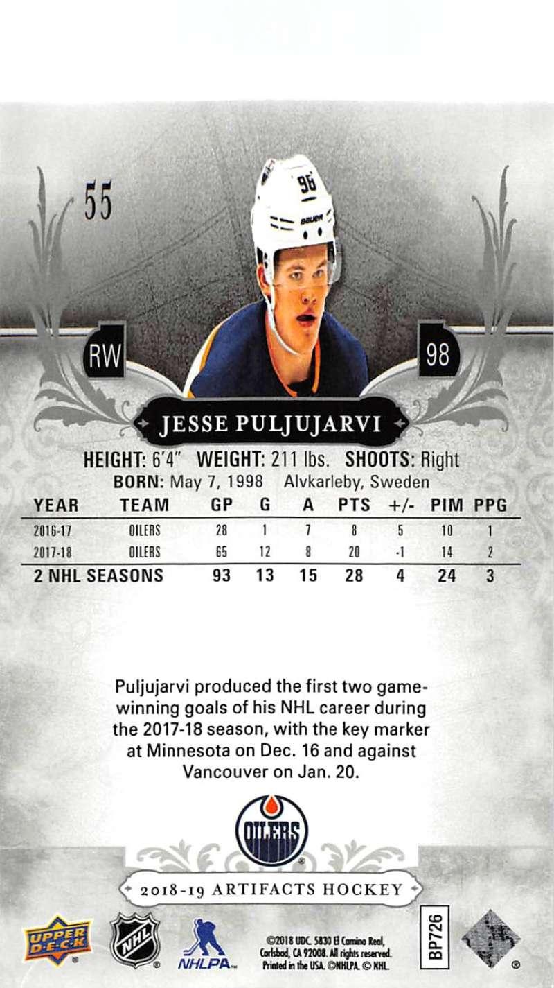 2018-19-Upper-Deck-Artifacts-Hockey-Cards-Pick-From-List-Rookies-Legends-SPs miniature 91