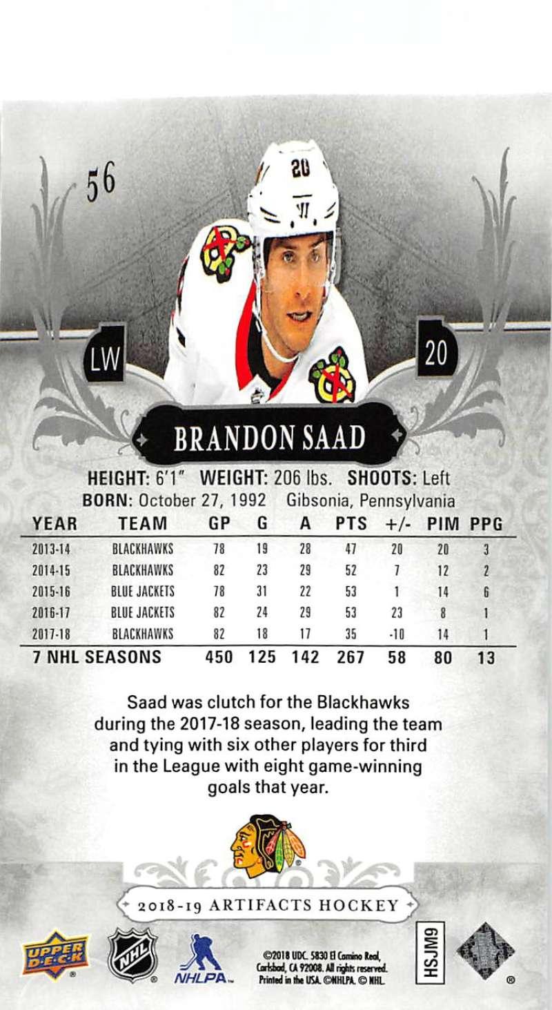 2018-19-Upper-Deck-Artifacts-Hockey-Cards-Pick-From-List-Rookies-Legends-SPs miniature 93