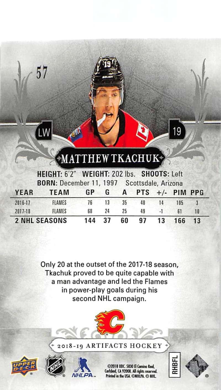 2018-19-Upper-Deck-Artifacts-Hockey-Cards-Pick-From-List-Rookies-Legends-SPs miniature 95