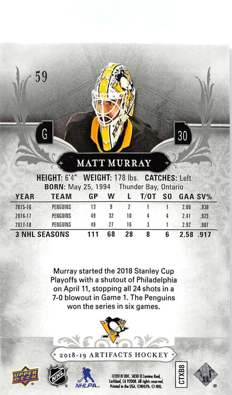 2018-19-Upper-Deck-Artifacts-Hockey-Cards-Pick-From-List-Rookies-Legends-SPs miniature 97
