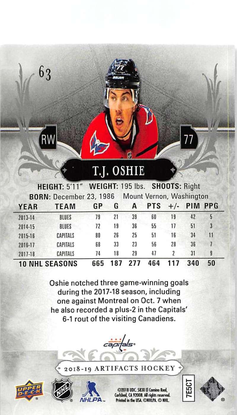 2018-19-Upper-Deck-Artifacts-Hockey-Cards-Pick-From-List-Rookies-Legends-SPs miniature 105