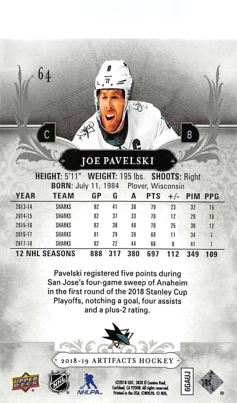 2018-19-Upper-Deck-Artifacts-Hockey-Cards-Pick-From-List-Rookies-Legends-SPs miniature 107