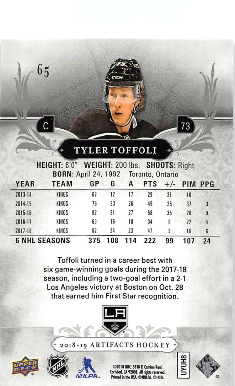 2018-19-Upper-Deck-Artifacts-Hockey-Cards-Pick-From-List-Rookies-Legends-SPs miniature 109