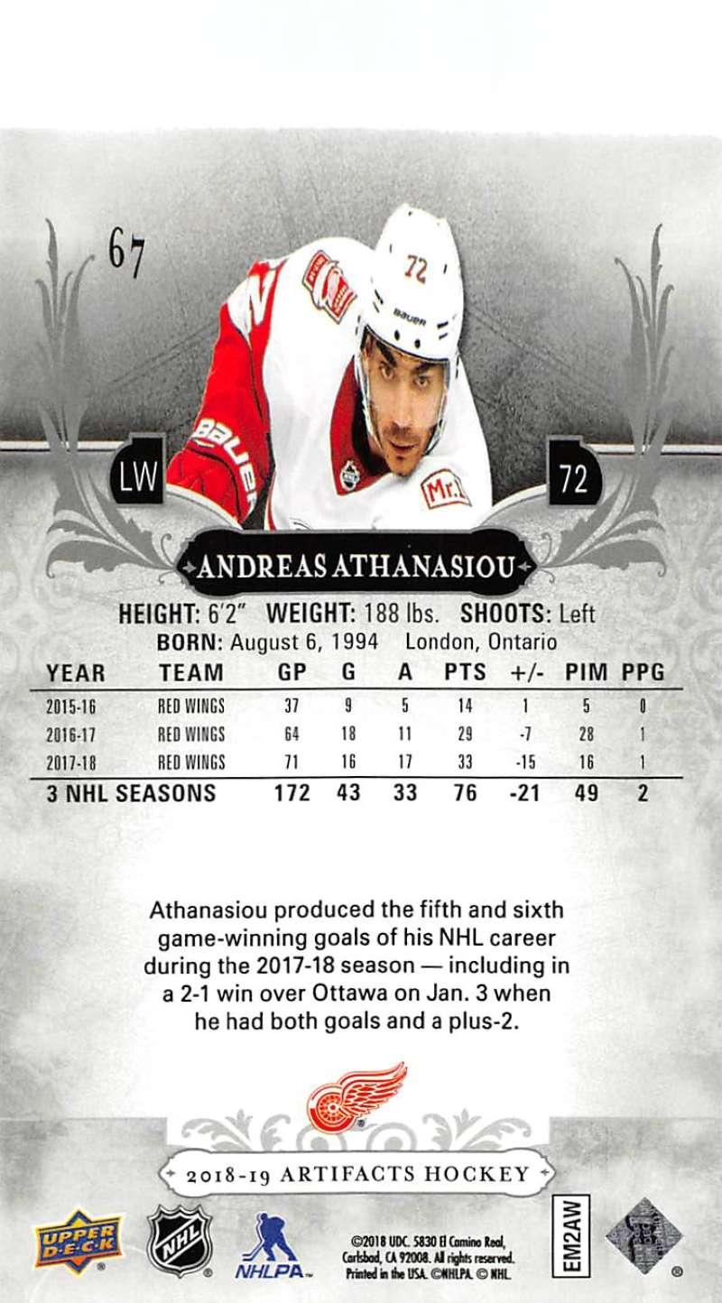 2018-19-Upper-Deck-Artifacts-Hockey-Cards-Pick-From-List-Rookies-Legends-SPs miniature 113
