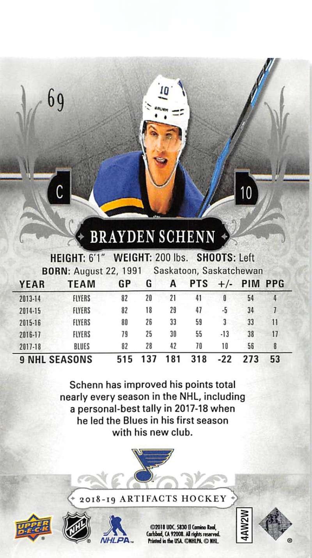 2018-19-Upper-Deck-Artifacts-Hockey-Cards-Pick-From-List-Rookies-Legends-SPs miniature 117