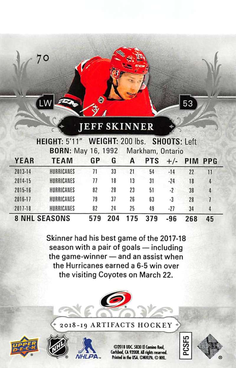 2018-19-Upper-Deck-Artifacts-Hockey-Cards-Pick-From-List-Rookies-Legends-SPs miniature 119