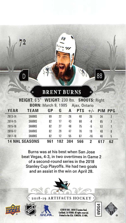 2018-19-Upper-Deck-Artifacts-Hockey-Cards-Pick-From-List-Rookies-Legends-SPs miniature 123