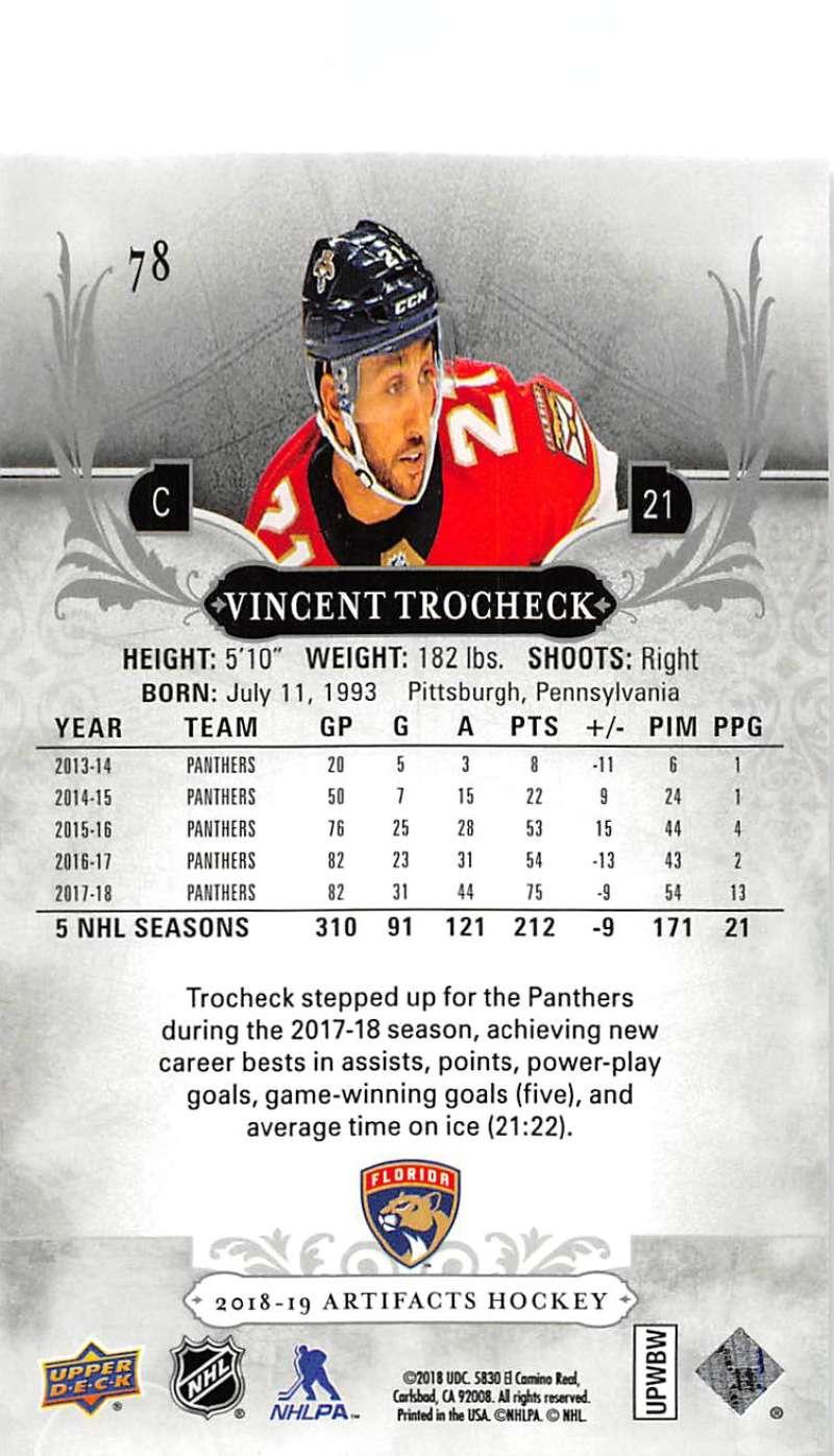 2018-19-Upper-Deck-Artifacts-Hockey-Cards-Pick-From-List-Rookies-Legends-SPs miniature 131