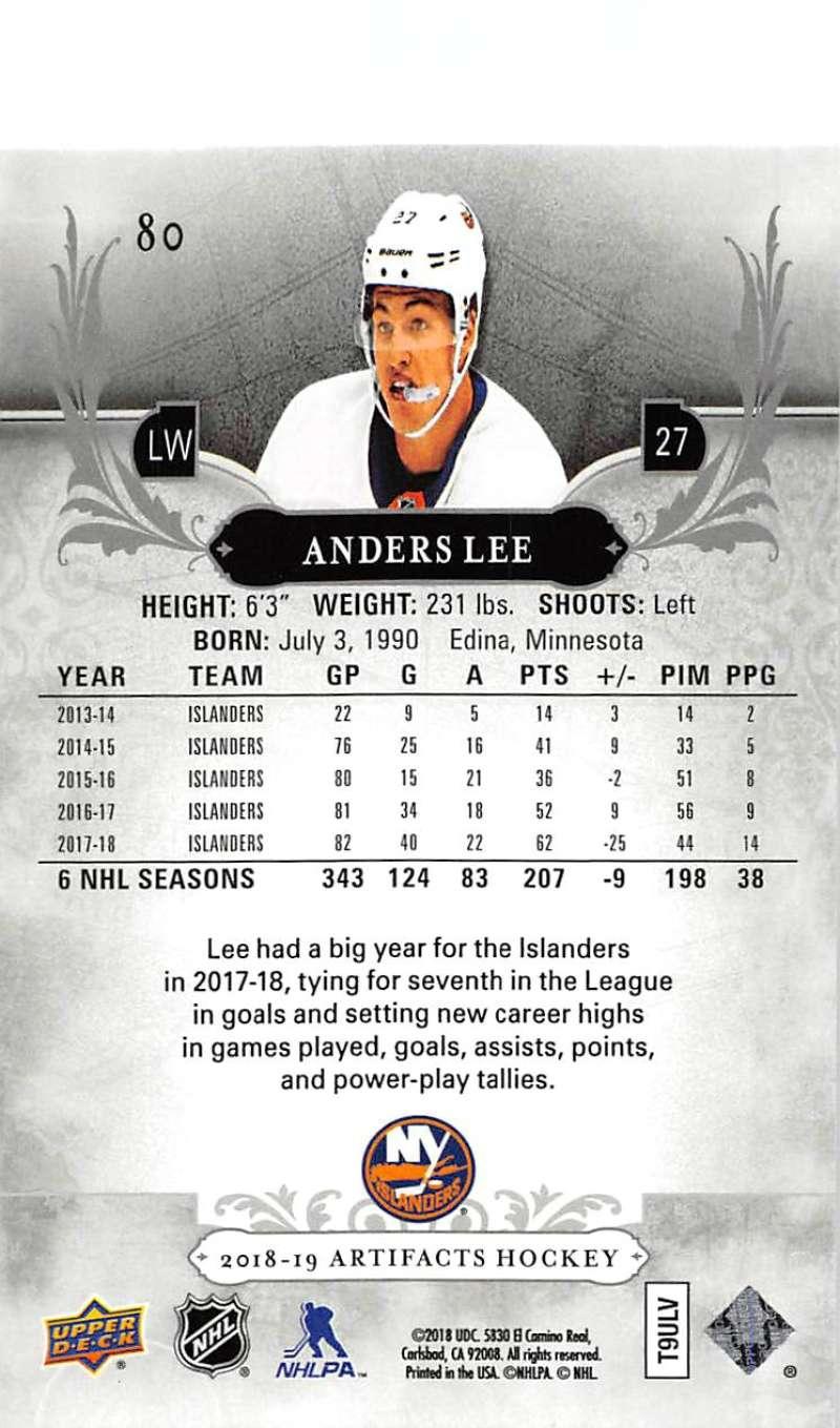 2018-19-Upper-Deck-Artifacts-Hockey-Cards-Pick-From-List-Rookies-Legends-SPs miniature 135