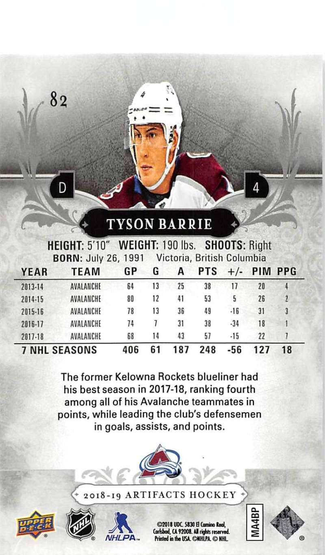 2018-19-Upper-Deck-Artifacts-Hockey-Cards-Pick-From-List-Rookies-Legends-SPs miniature 137