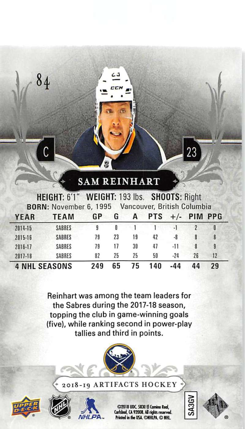 2018-19-Upper-Deck-Artifacts-Hockey-Cards-Pick-From-List-Rookies-Legends-SPs miniature 141