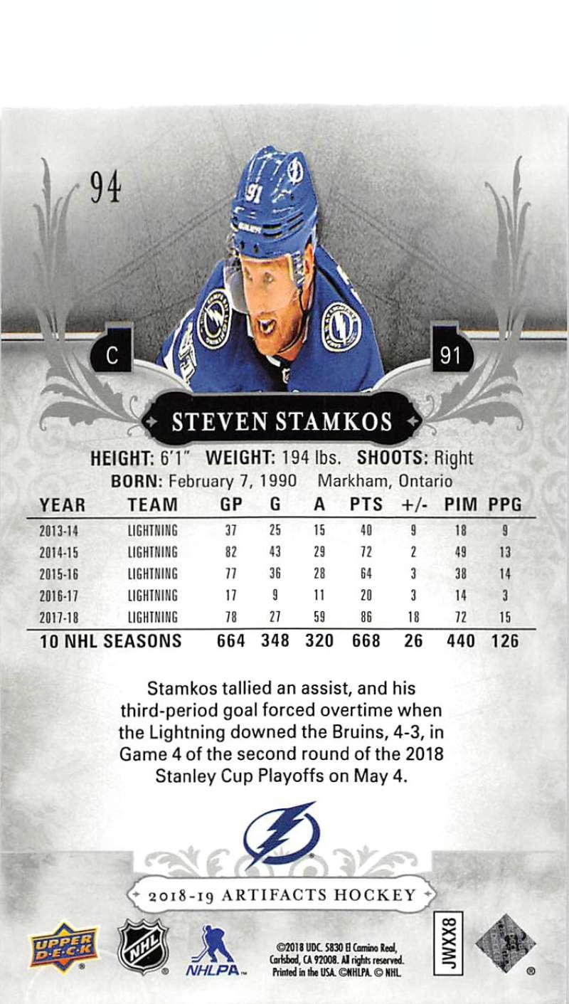 2018-19-Upper-Deck-Artifacts-Hockey-Cards-Pick-From-List-Rookies-Legends-SPs miniature 155