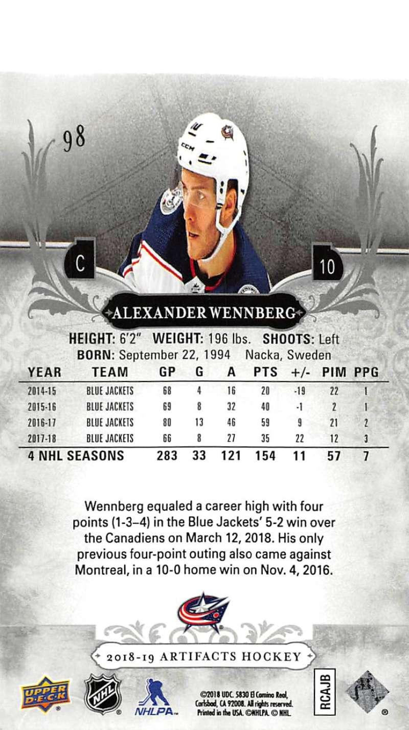 2018-19-Upper-Deck-Artifacts-Hockey-Cards-Pick-From-List-Rookies-Legends-SPs miniature 163