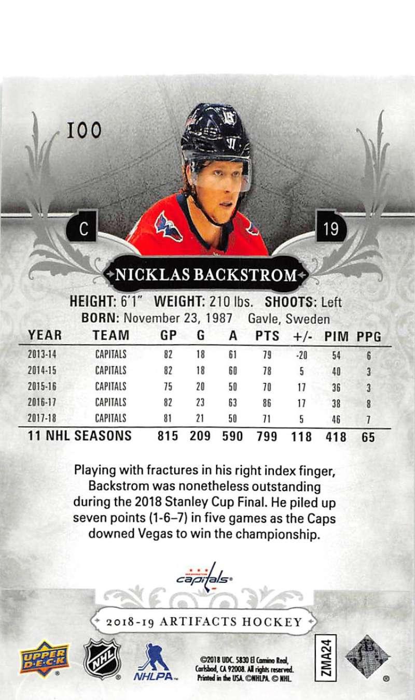 2018-19-Upper-Deck-Artifacts-Hockey-Cards-Pick-From-List-Rookies-Legends-SPs miniature 167