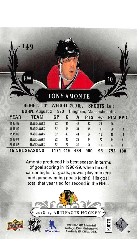 2018-19-Upper-Deck-Artifacts-Hockey-Cards-Pick-From-List-Rookies-Legends-SPs miniature 177