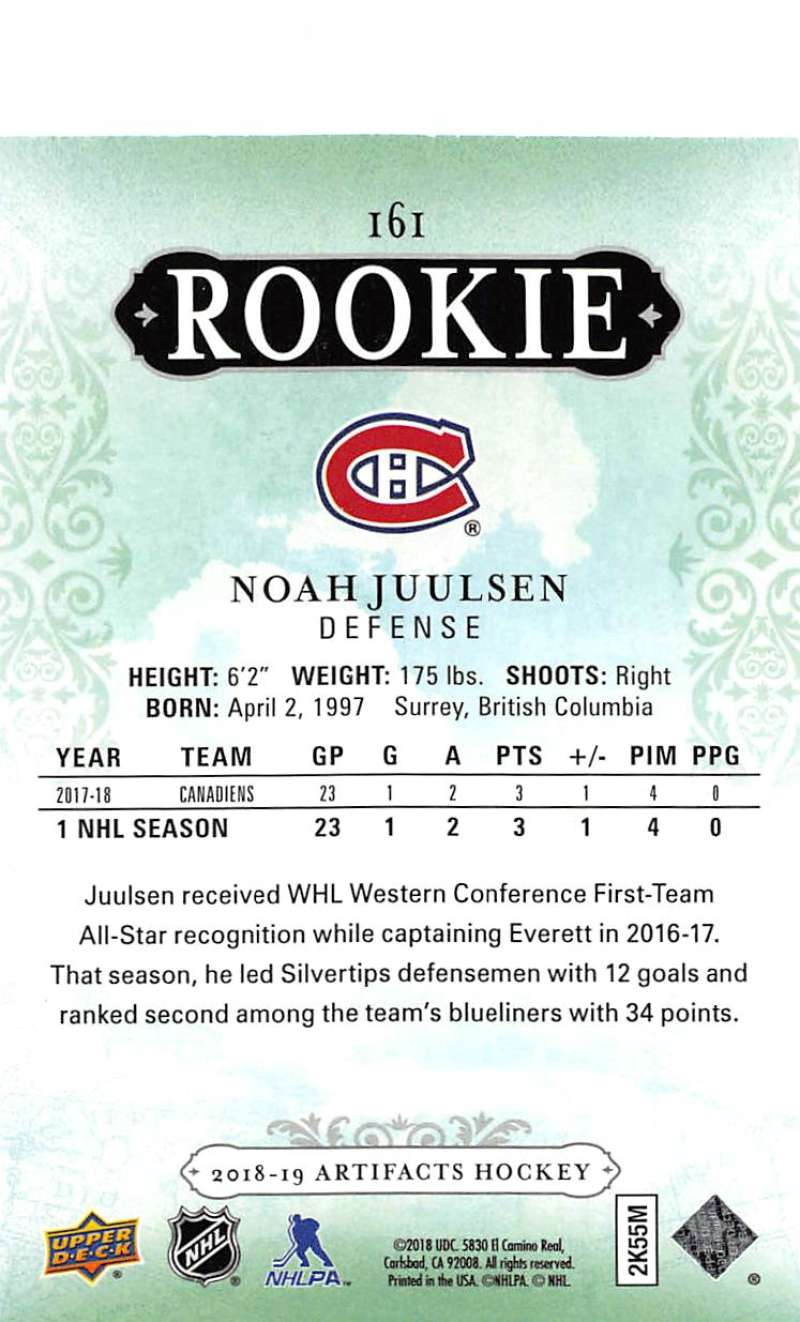 2018-19-Upper-Deck-Artifacts-Hockey-Cards-Pick-From-List-Rookies-Legends-SPs miniature 179