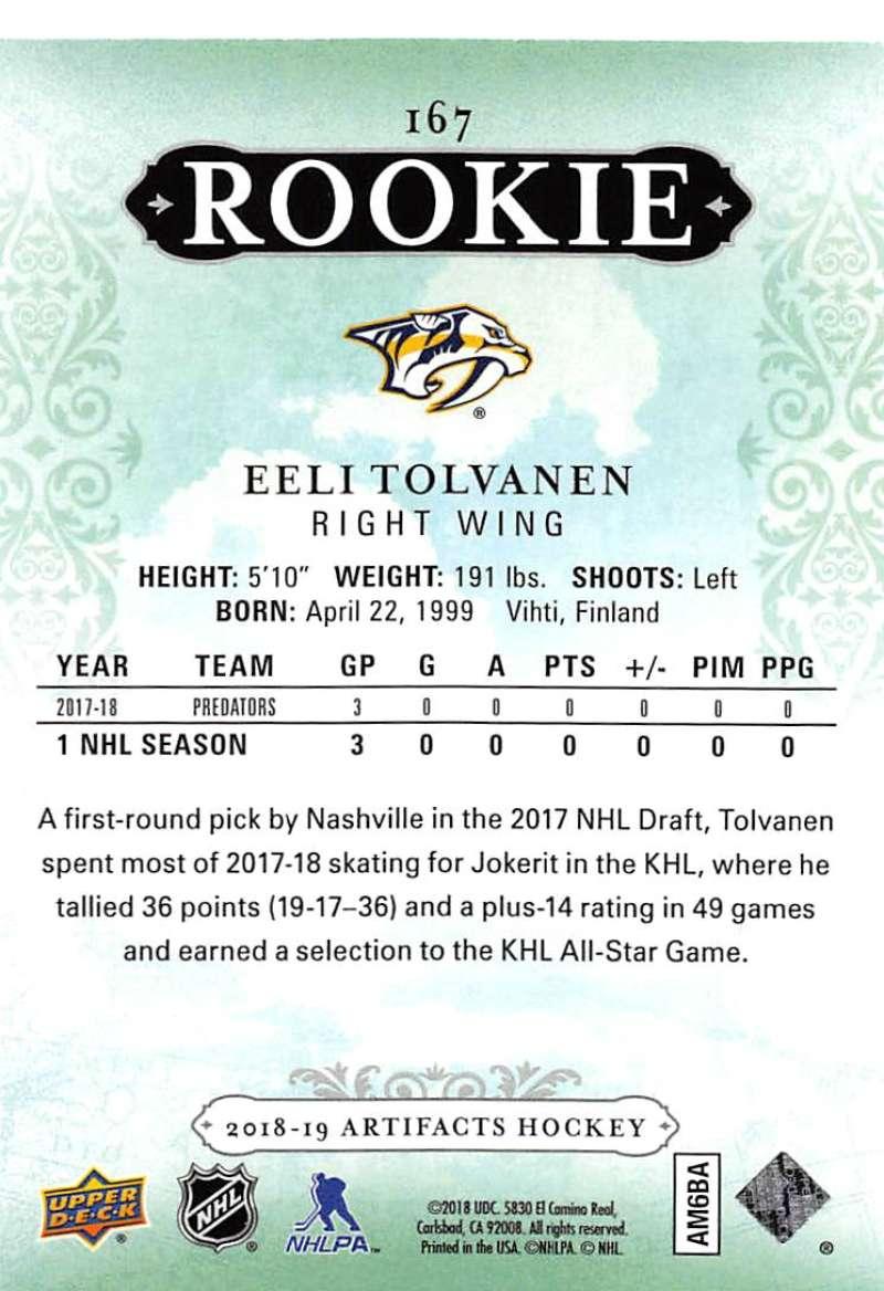 2018-19-Upper-Deck-Artifacts-Hockey-Cards-Pick-From-List-Rookies-Legends-SPs miniature 181
