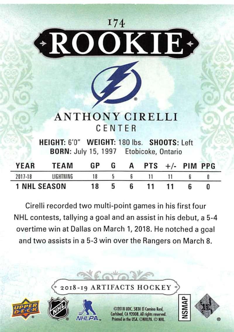 2018-19-Upper-Deck-Artifacts-Hockey-Cards-Pick-From-List-Rookies-Legends-SPs miniature 185