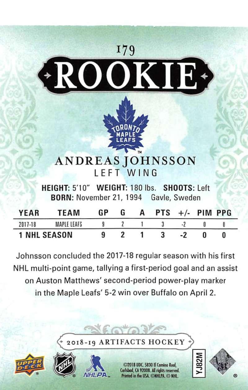 2018-19-Upper-Deck-Artifacts-Hockey-Cards-Pick-From-List-Rookies-Legends-SPs miniature 187