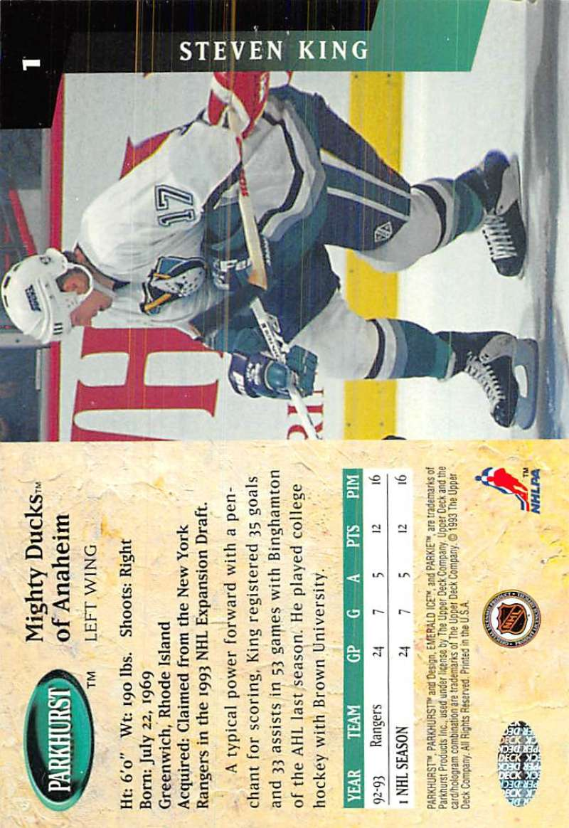 1993-94-Parkhurst-Emerald-Ice-Hockey-Cards-Pick-From-List-1-200 thumbnail 3