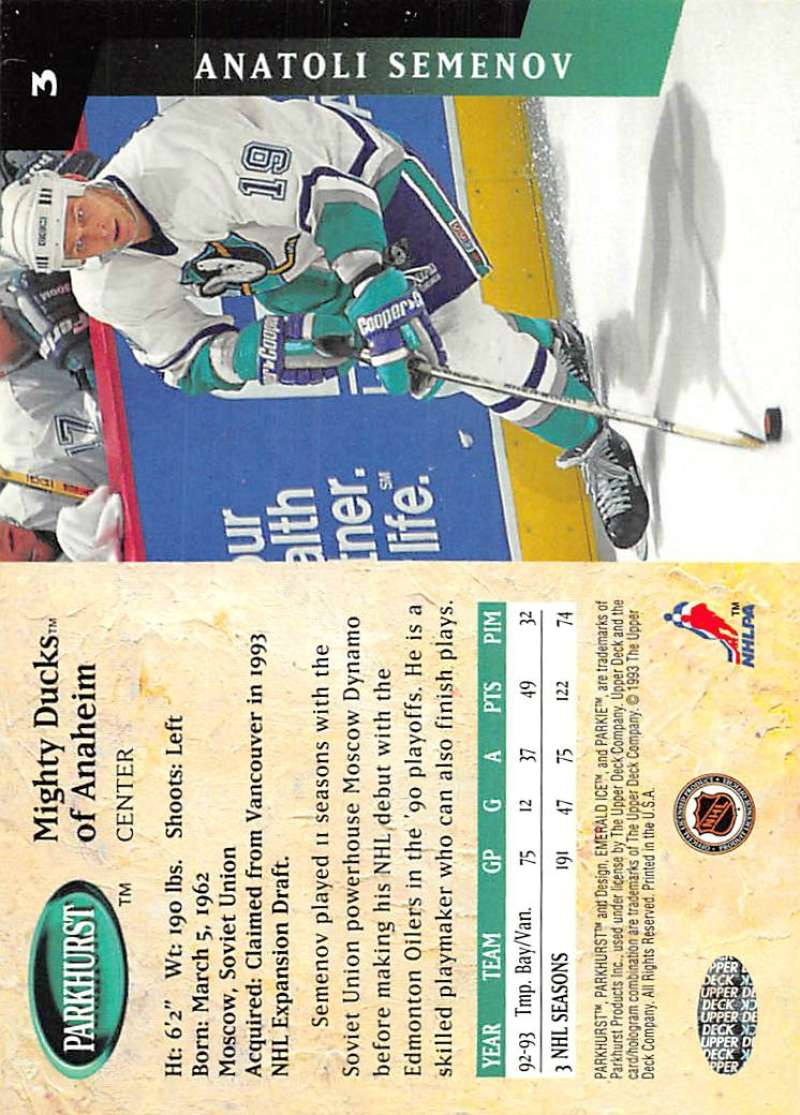 1993-94-Parkhurst-Emerald-Ice-Hockey-Cards-Pick-From-List-1-200 thumbnail 7