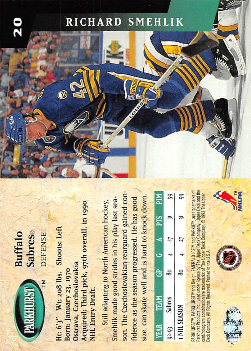 1993-94-Parkhurst-Emerald-Ice-Hockey-Cards-Pick-From-List-1-200 thumbnail 19