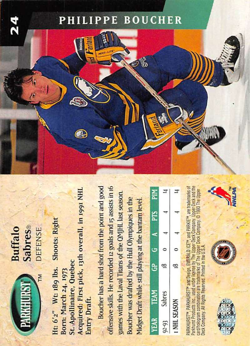 1993-94-Parkhurst-Emerald-Ice-Hockey-Cards-Pick-From-List-1-200 thumbnail 23