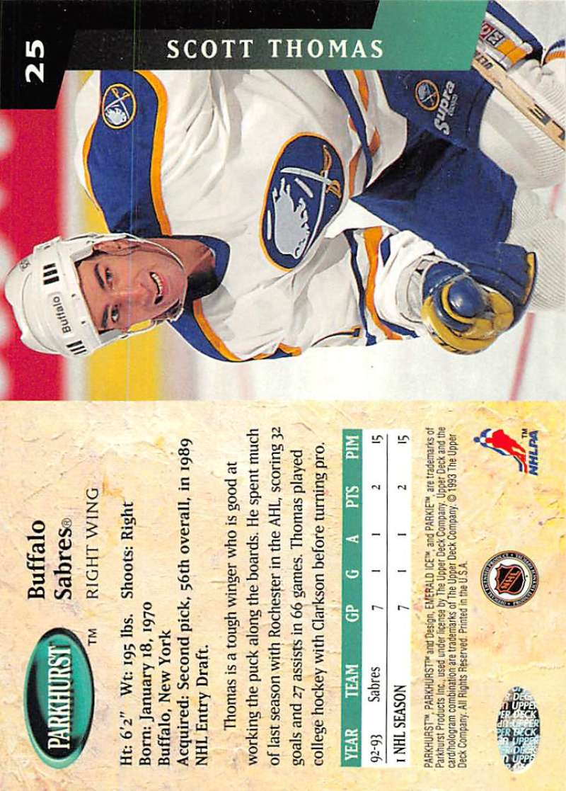 1993-94-Parkhurst-Emerald-Ice-Hockey-Cards-Pick-From-List-1-200 thumbnail 25