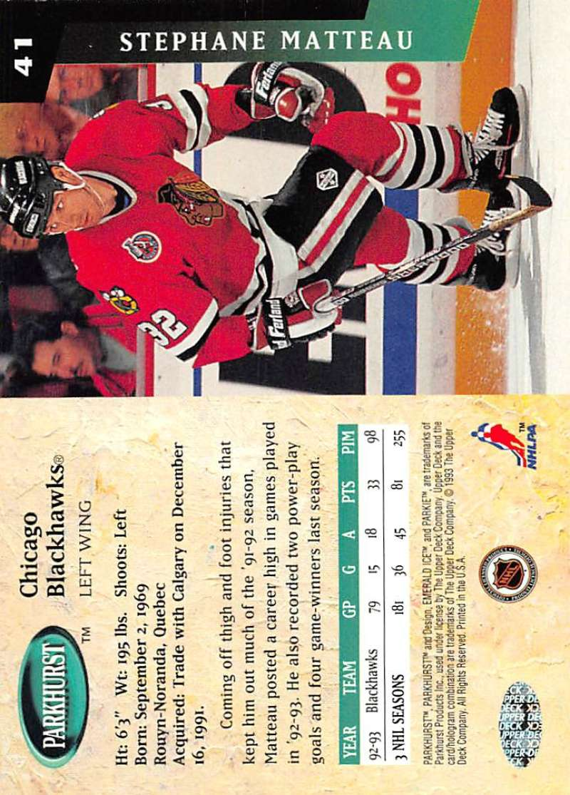 1993-94-Parkhurst-Emerald-Ice-Hockey-Cards-Pick-From-List-1-200 thumbnail 43