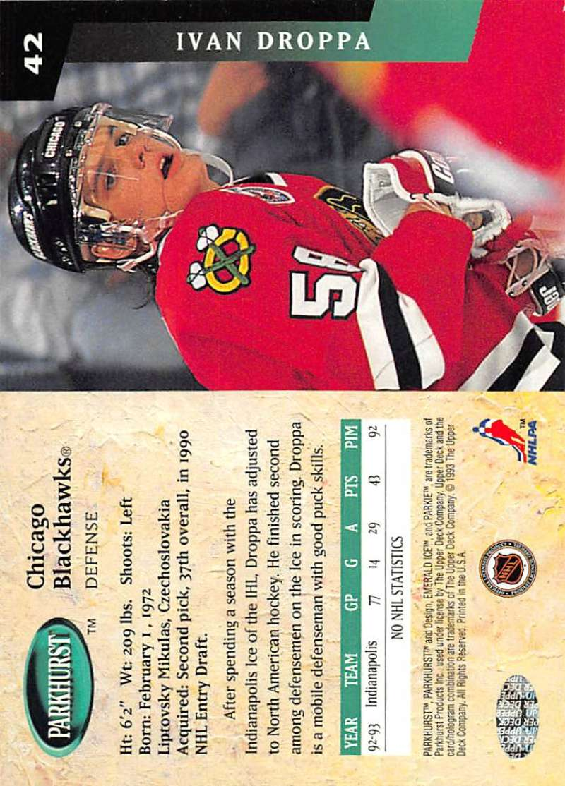 1993-94-Parkhurst-Emerald-Ice-Hockey-Cards-Pick-From-List-1-200 thumbnail 45
