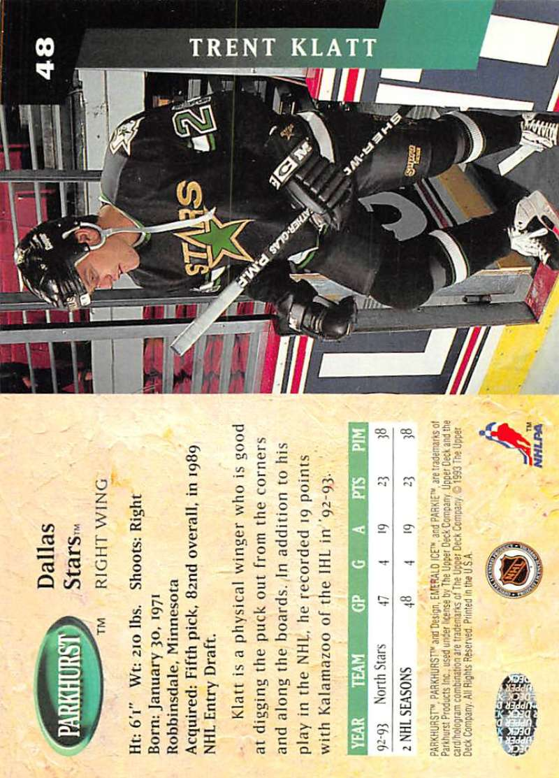1993-94-Parkhurst-Emerald-Ice-Hockey-Cards-Pick-From-List-1-200 thumbnail 51
