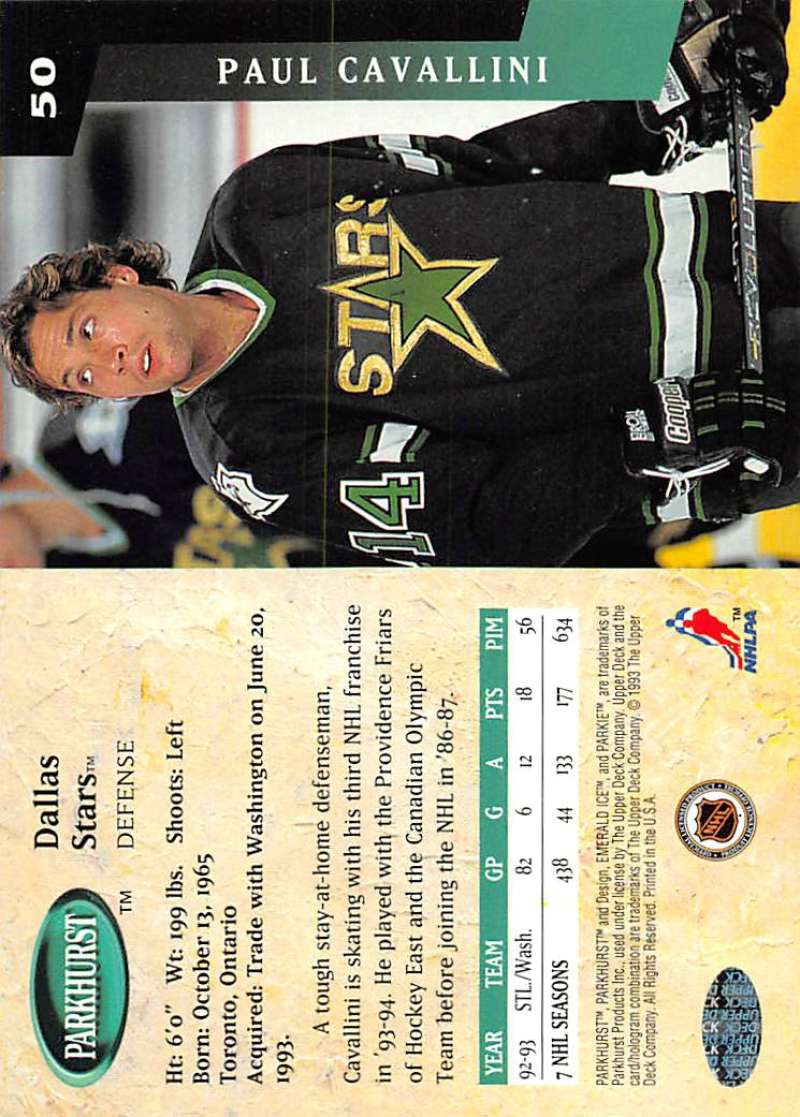 1993-94-Parkhurst-Emerald-Ice-Hockey-Cards-Pick-From-List-1-200 thumbnail 53
