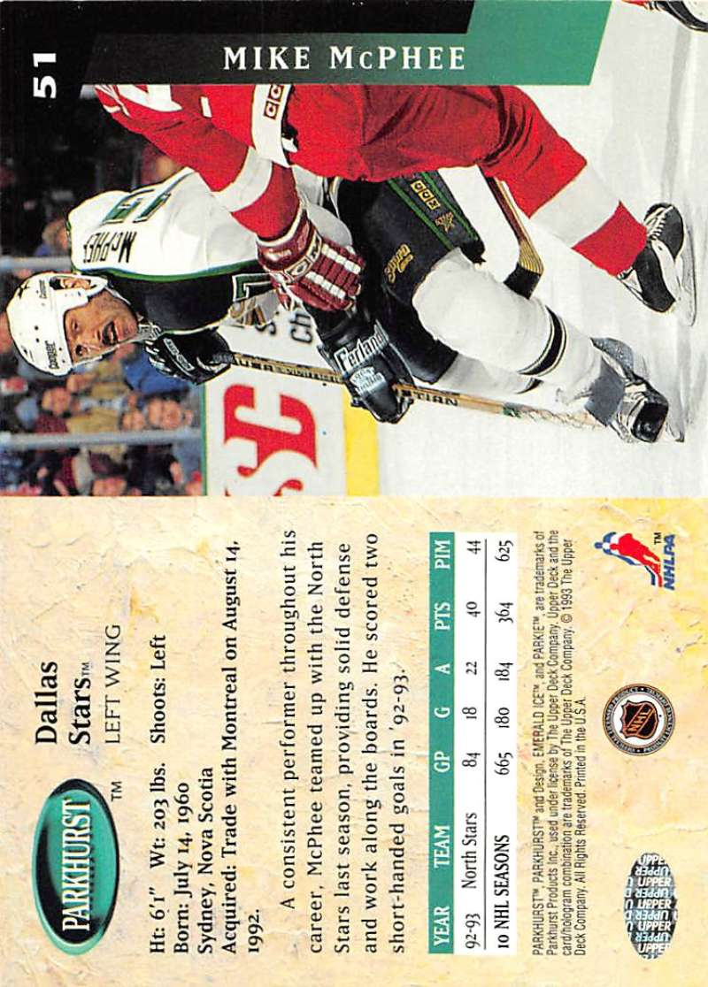 1993-94-Parkhurst-Emerald-Ice-Hockey-Cards-Pick-From-List-1-200 thumbnail 55