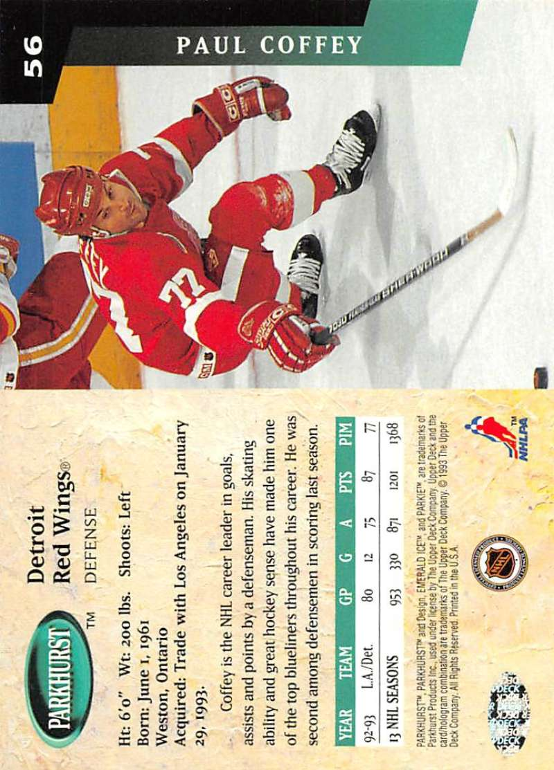 1993-94-Parkhurst-Emerald-Ice-Hockey-Cards-Pick-From-List-1-200 thumbnail 63
