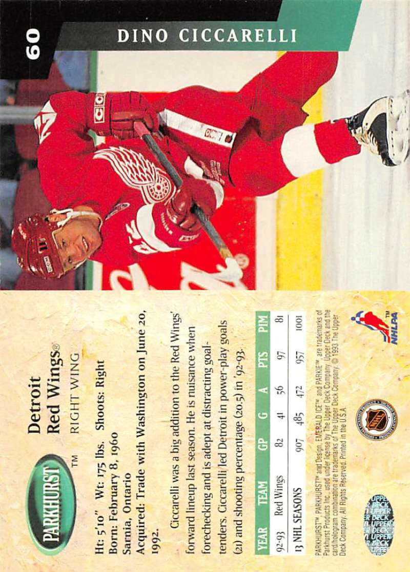 1993-94-Parkhurst-Emerald-Ice-Hockey-Cards-Pick-From-List-1-200 thumbnail 69