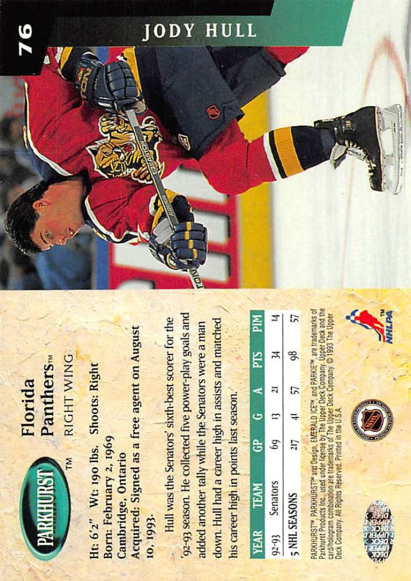 1993-94-Parkhurst-Emerald-Ice-Hockey-Cards-Pick-From-List-1-200 thumbnail 85