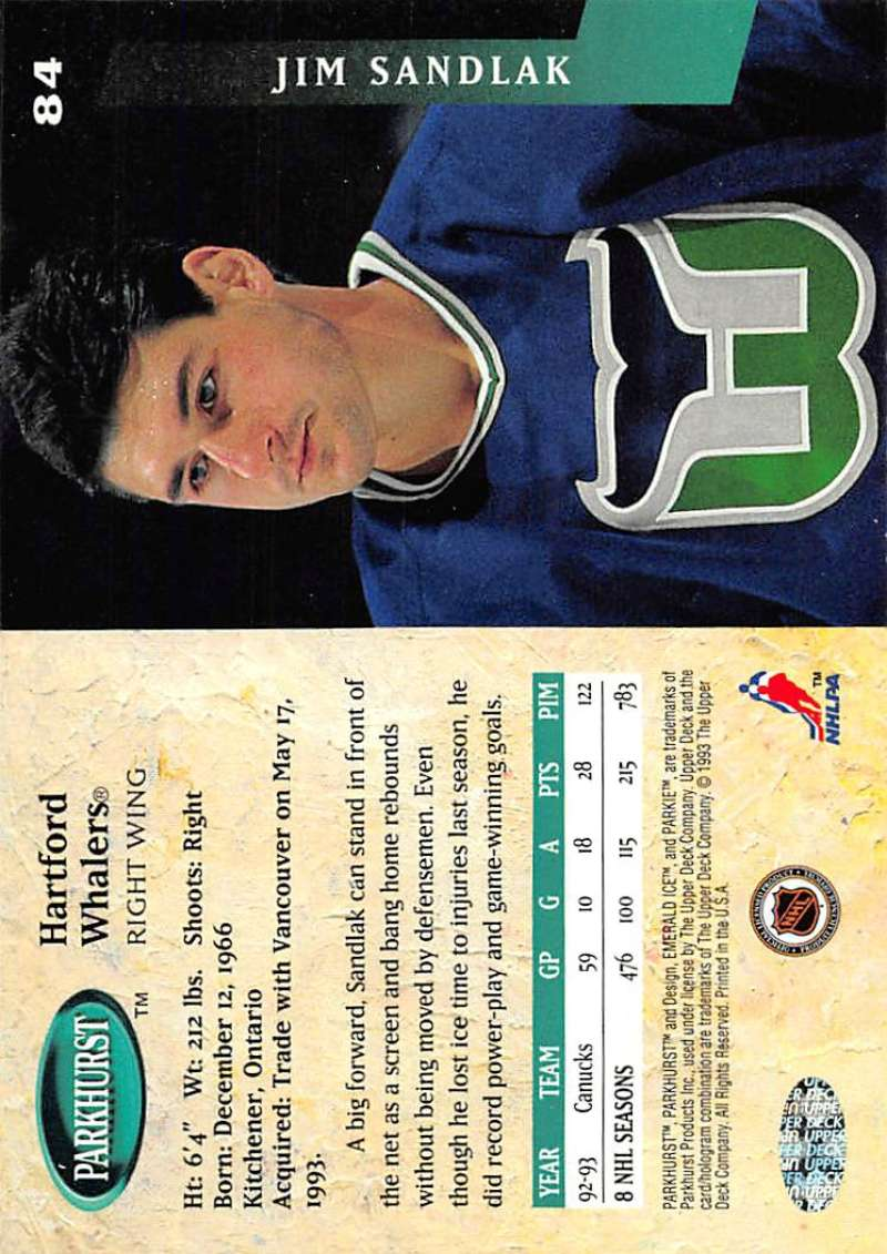 1993-94-Parkhurst-Emerald-Ice-Hockey-Cards-Pick-From-List-1-200 thumbnail 95