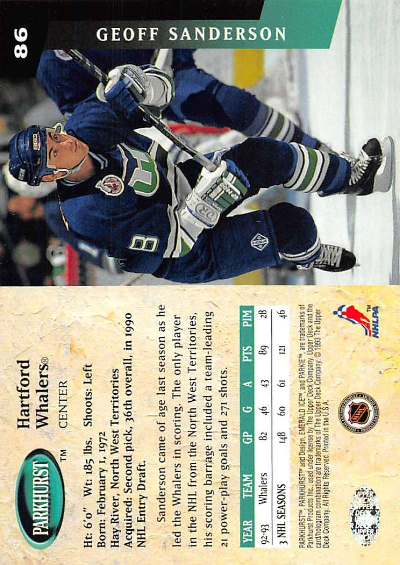 1993-94-Parkhurst-Emerald-Ice-Hockey-Cards-Pick-From-List-1-200 thumbnail 99