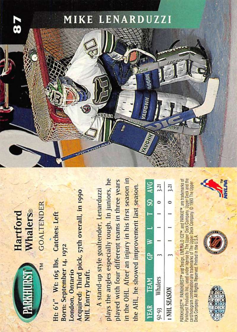 1993-94-Parkhurst-Emerald-Ice-Hockey-Cards-Pick-From-List-1-200 thumbnail 101
