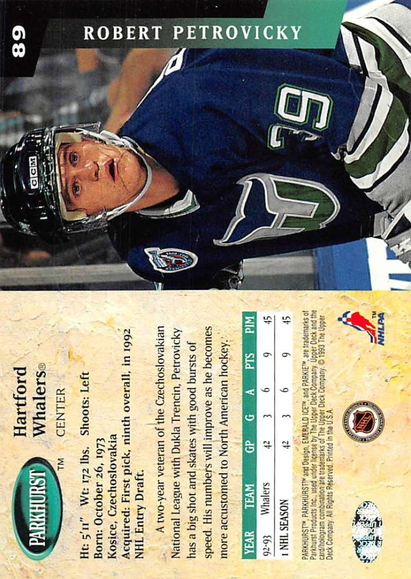 1993-94-Parkhurst-Emerald-Ice-Hockey-Cards-Pick-From-List-1-200 thumbnail 105