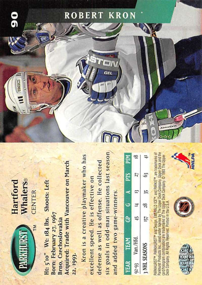 1993-94-Parkhurst-Emerald-Ice-Hockey-Cards-Pick-From-List-1-200 thumbnail 107