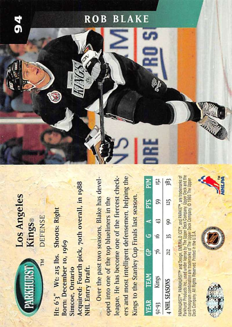 1993-94-Parkhurst-Emerald-Ice-Hockey-Cards-Pick-From-List-1-200 thumbnail 111