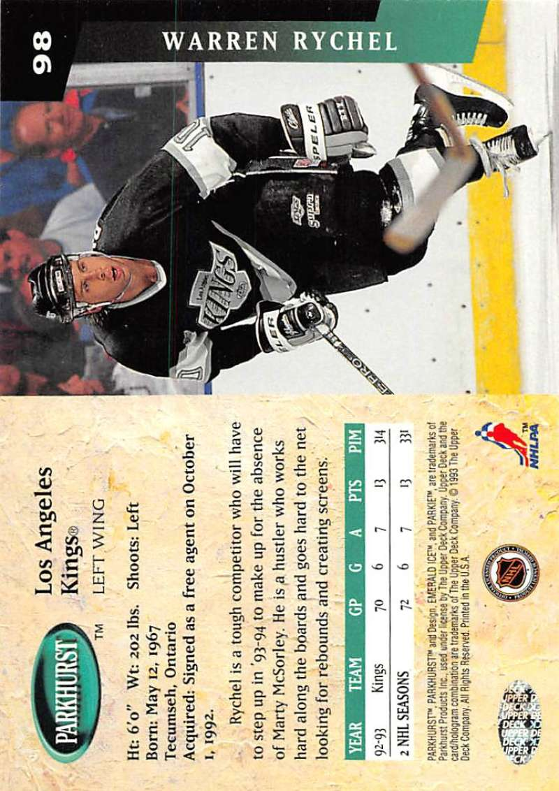 1993-94-Parkhurst-Emerald-Ice-Hockey-Cards-Pick-From-List-1-200 thumbnail 117