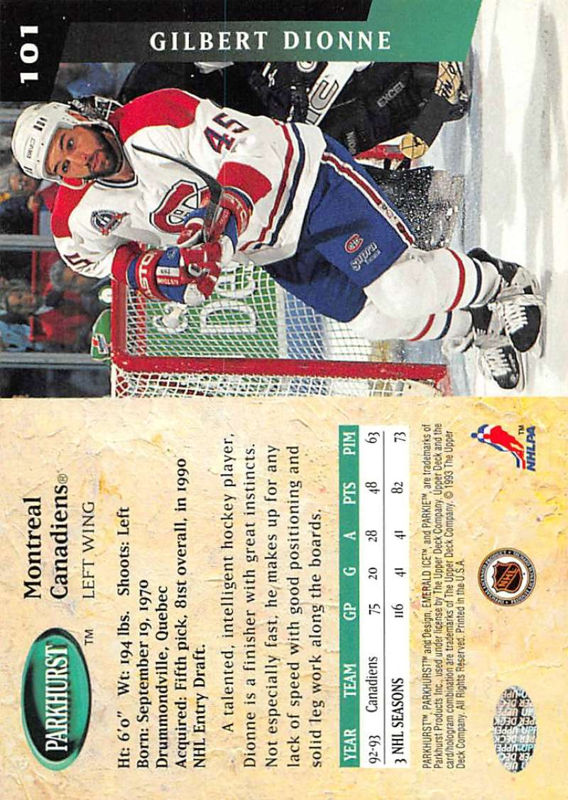 1993-94-Parkhurst-Emerald-Ice-Hockey-Cards-Pick-From-List-1-200 thumbnail 121