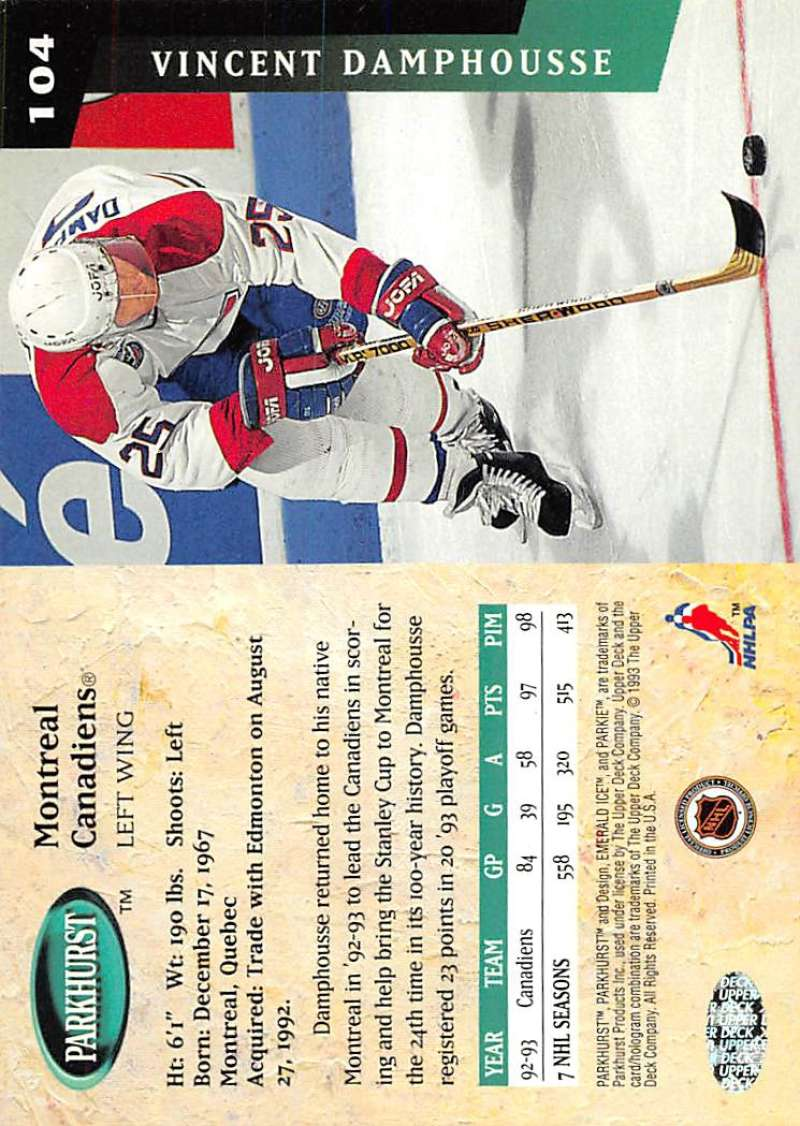 1993-94-Parkhurst-Emerald-Ice-Hockey-Cards-Pick-From-List-1-200 thumbnail 125